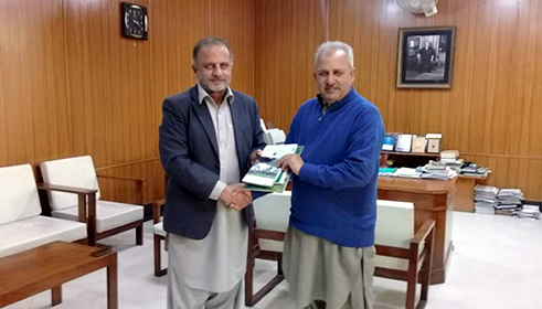 Vice Chancellor Islamia College University visits PSC