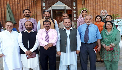 Dr. Fakhar attends PhD defense at International Islamic University Islamabad