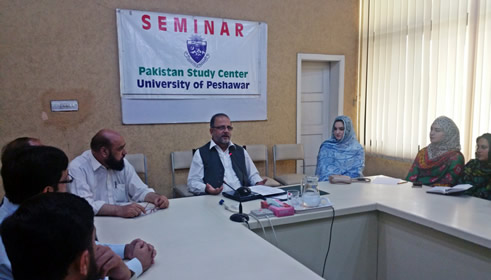 Workshop on Research Methodology at Pakistan Study Centre University of Peshawar